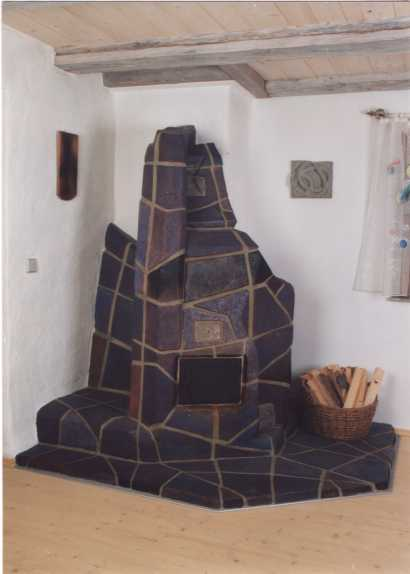 Sunbathing in the living room: oven stoves and heat walls - LOW-TECH