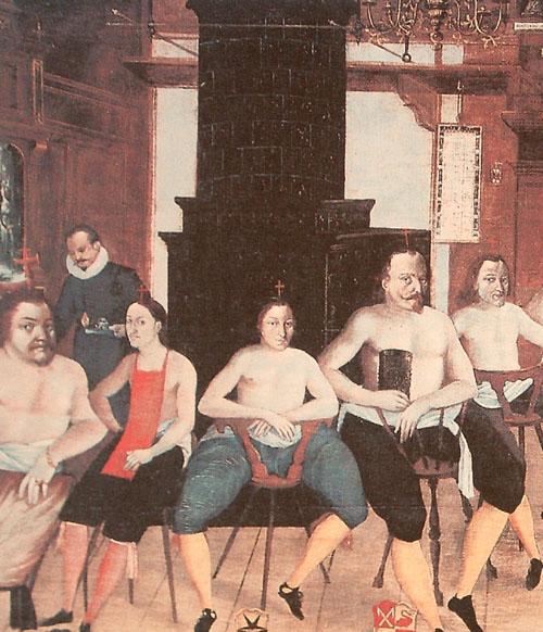 Tile stove 1604
