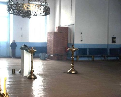 Russian stove central heating 2