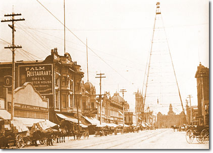 San jose tower 1905