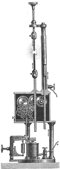 Arc light 1840s