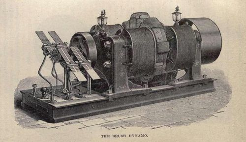 The brush dynamo