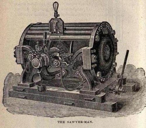The sawyer man
