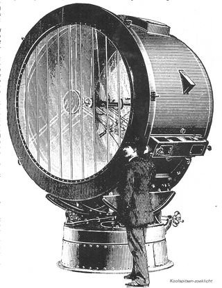 Arc searchlight