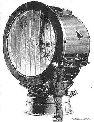 Arc searchlight