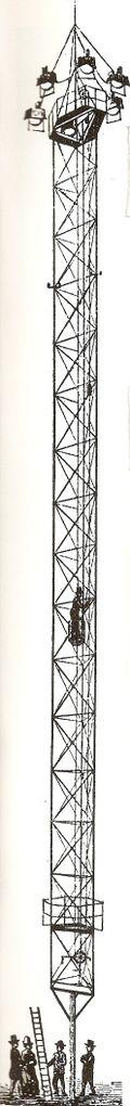 Detroit moonlight tower