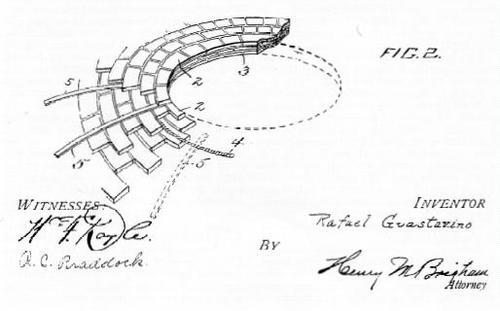 Patent catalaanse boog