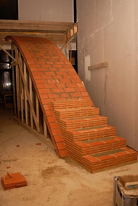 Bouw van de trap