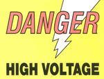 Danger high voltage 1