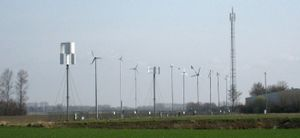 Small windturbines test