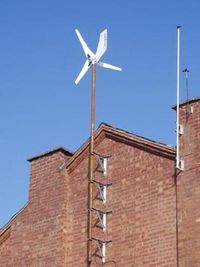 Test windturbine gevel