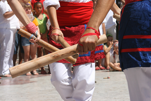 Stick dance