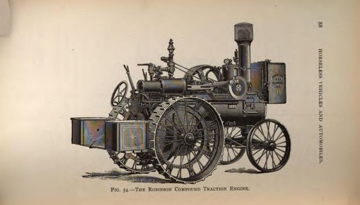 Steam powered automobile