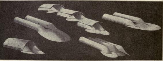 Various forms of kites