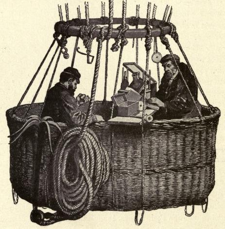 Glaisher and Coxwell in the basket
