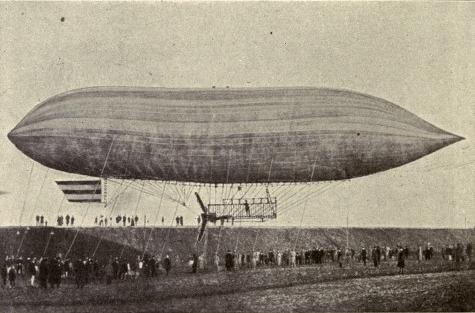 Paul Haenlein dirigible balloon