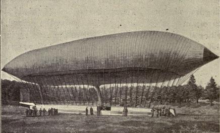 The balloon la france built by renard and krebs