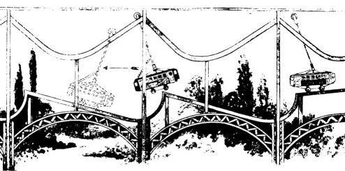 Perpetuum mobile railroad