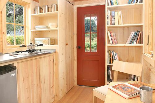 Klein huis interieur
