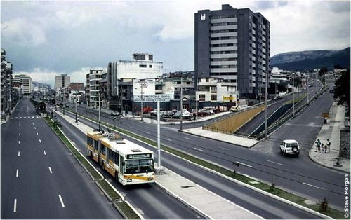 Quito trolleybus