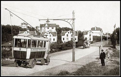 Blankenese marienhove trolleybus