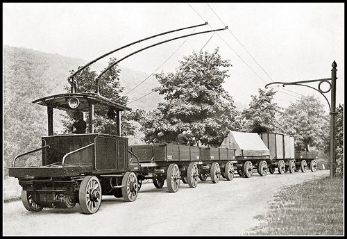 Trolleytruck duitsland 2