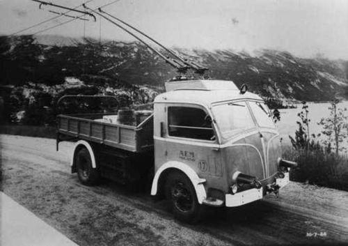 Trolleytruck italie