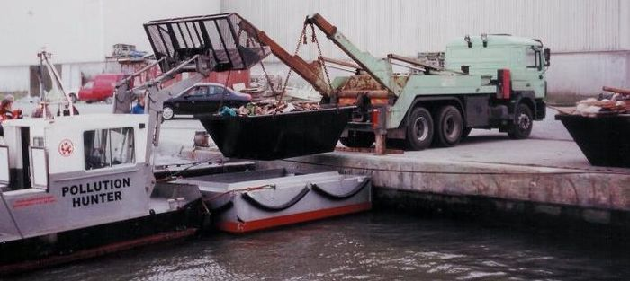 Boat to truck
