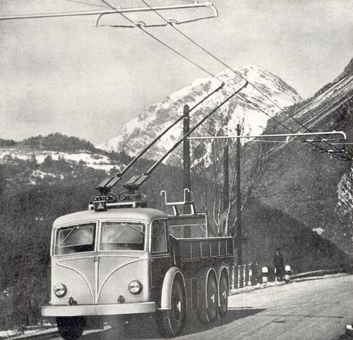 Trolleytruck italy 2
