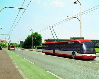 Trolleybussen