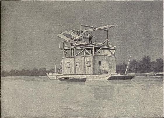 Starting arrangements for professor Langley's flying machine