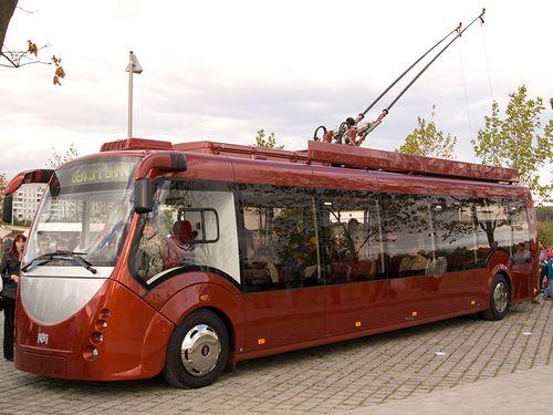 Trolleybus minsk