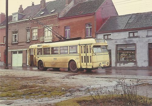 Trolleybus brussel laatste dienst