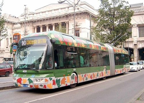 Trolleybus in italy