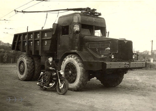 Trolleytruck oekraine