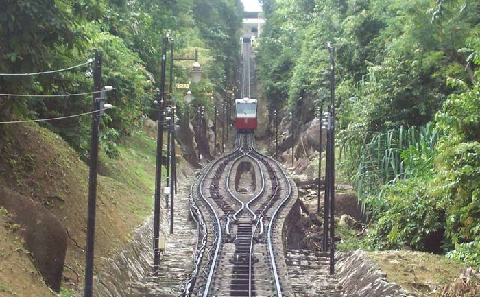 Cable Train Penang Hill