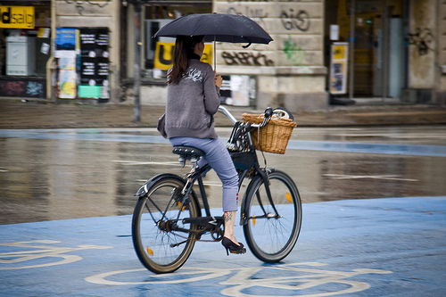 Cycle chic rain