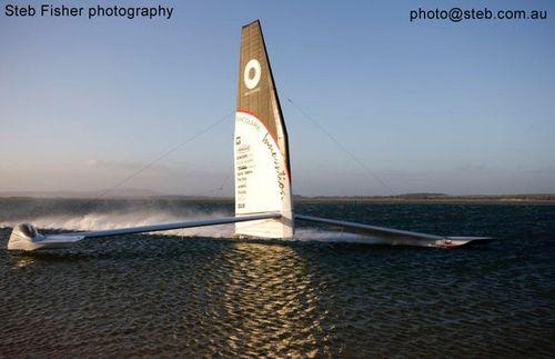Macquarie Innovation snelheid zeilschip steb fisher