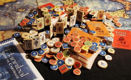 Rome versus carthage bordspel