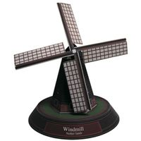 Paper model of windmill