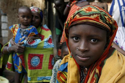 Afrikaanse meisje