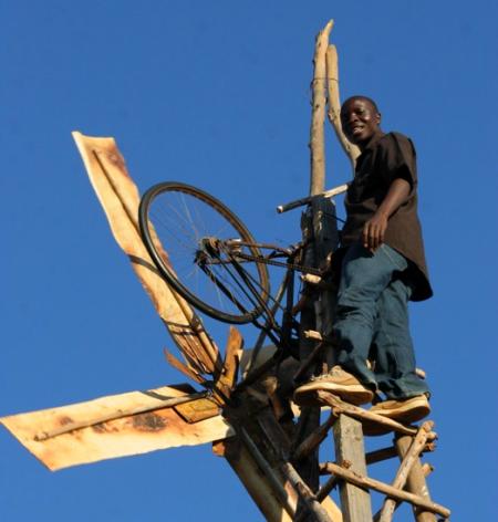 William kamkwamba windmolen