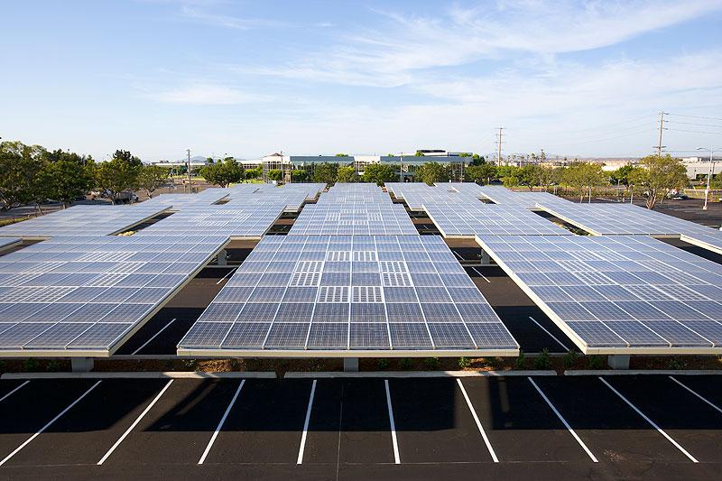 Zonnebos hoofdkantoor Kyocera san diego copyright envision solar