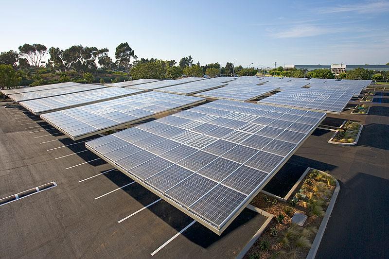 Zonnebos hoofdkantoor Kyocera san diego 2 copyright envision solar