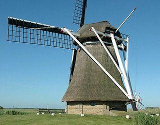 Windmill Oudkerk cc Donald Vandenbulcke