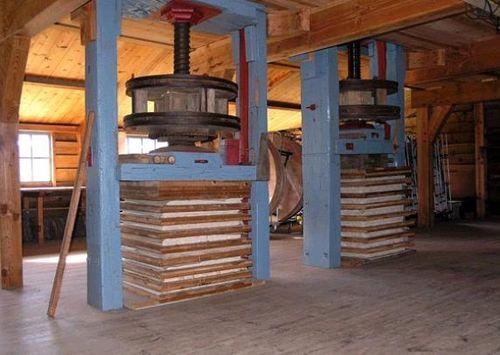 Interieur papiermolen