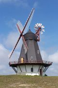 Windmolen met windroos
