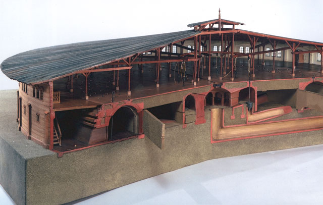 Hoffmann kiln model