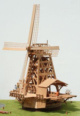 Schaalmodel windmolen 1