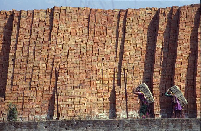 Brick production in nepal source www.nepal-dia.de